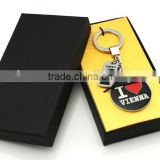 """Love Vienna"" Pair Keychain Alloy Keyring Lovers Gift Cheap gift zinc alloy love keychain"