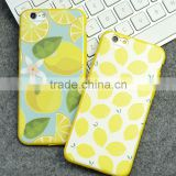 Wholesale Summer Lemon TPU Mobile Phone Case for iPhone 6