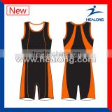 High Quality Lycra Custom wrestling singlet