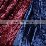 China Supplier 100 Polyester Ice Velvet Fabric For Table Cloths Or Sofa Fabric And Upholstery Decoration