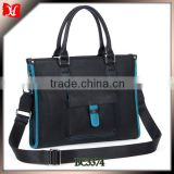 High quality fashion leather bag man brand handbag