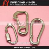 Jinyu heavy duty stainless steel mountain climbing karabiner hooks