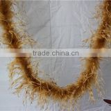 "3 ply 72"" Fashion Ostrich Feather Boas Clothing Accessories For Party Weddings Decoration"