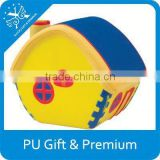 custom made house shaped cheap anti pu stress balls for promotional gift
