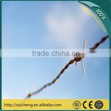 Guangzhou Barbed Wire Font/ High Tensile Strength Barbed Wire/ Electro And Hot Dipped Galvanized Barbed Wire