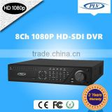 8 channel rohs dvr system software support 8 cameras can be hd sdi dvr