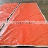 Insulated tarp for Concrete Curing Blanket made of PE woven fabric bubble foam and radiant barrier