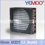 YEMOO 2kw R22 R404a industrial cold storage fin type refrigeration air cooling condenser manufacturer