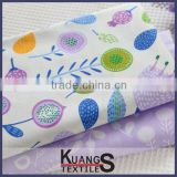 quality 100% cotton printing fabric/printed fa, cotton yarn dyed shirt grey fabric