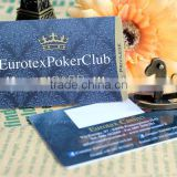 2014 Hot Sell eurotex poker club vip card
