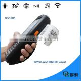 Touch screen wireless qr code reader android,wireless android PDA with thermal printer ,IC card NFC reader PDA3505