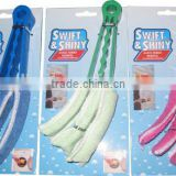 New Colourful Plastic Handle Blinds Microfiber Window Duster