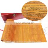 Chinese culture love custom vintage bamboo slip for menu gift