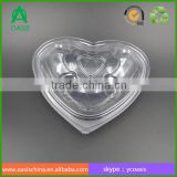 New design plastic heart shape berry blueberry clamshell punnet