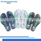 The most popular silk printing v strap slippers for man