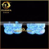 wuzhou supplier polished opal flat back stone bule synthetic opal stones