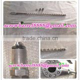 Hard chrome plating single screw barrel for PVC EVA PE TPO Waterproof sheet Extrusion Line