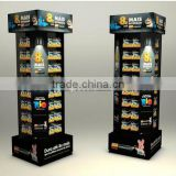 battery powered rotating display stand/battery operated display lights/battery display rack