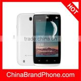 Original ZTE U809, 4.0 inch Android 4.2 Capacitive Screen Smart Phone, MTK6572 Dual Core 1.2GHZ, RAM: 256MB, ROM: 512MB, Dual Si