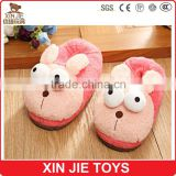 cheap plush slippers EN71 plush slippers factory cute ladies winter indoor plush slippers