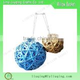 Wicker garden balls/Round rattan christmas balls/Home decor Wicker Balls