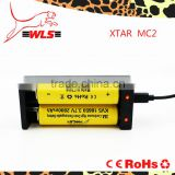 XTAR MC2 capacity tester USB 18350 18650 IMR li-ion charger with LCD display universal fast charger for li-ion batteries Xtar