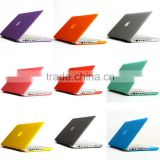 Matte hard case for Macbook case, for macbook pro case 13'', for macbook air case 13 with keyboard factory china wholesale