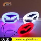 4D lighted for Toyota VW Audi BMW led car emblem with white blue red led car logo light on rear auto badge lamp                                                                         Quality Choice                                                     Most