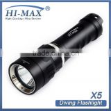 Hi-Max NEW Diving Torch CREE XM-L U2 LED 3000 Lumens flashlight torch