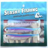 Aluminum Foil Packaging Bag/fishing Lure Packaging Bag/plastic Ziplock Bag                                                                         Quality Choice