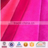 hot sell dyeing Warp knit polyester spandex velvet fabric velvet fabric for clothing drapery in winter