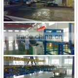 Rigid polyurethane blending foam system for continuous panels