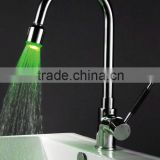 led tap faucet brass chrome pull out faucet