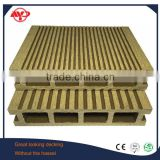 crack-resistant decking with cheap composite decking material popular wood plastic composite decking