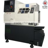 Hot sale!BY20C 4-axis High speed Precision Gang tool CNC lathe price