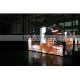Lifetime maintanence Crystal-clear full color led video wall for advertising, for malls, chain stores