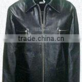 Leather Winter Jacket , men's fashion jacket , 2013 WESTERN FASHION MEN DUCK DOWN JACKET