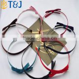 <<<Latest Design Korean Style Hair Accessories Gift Bow Knot Fancy Cute hairbands Acrylic For Girls Headbands/