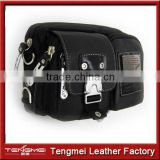 lychee grain leather man bag, many pocket travel bag price
