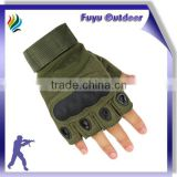 newest Half Finger Police Protective Knuckle Protection Gloves|military steel helmet