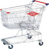 Steel Wire Shopping Cart With Baby Seat& best shopping carts
