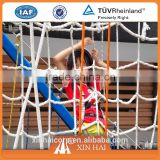 Good quality polyester mutiflilament net for children outdoor sports net like climbing net and ball nets