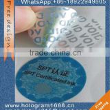 Custom Security special logo tamper proof VOID packing label