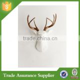 European Style Resin Artificial Deer Head Antlers Modern Wall Decor