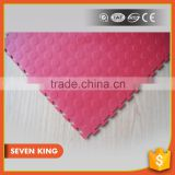 QINGDAO 7KING Cheapest Anti slip garage/kid plastic paly PVC Floor Tile Mat