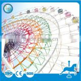 China Hot sale!!! Attractive LED lights decorated amusement park rides outdoor games giant ferris wheel for sale