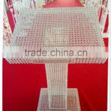 new products!wedding decoration crystal rostrum host desk bar table for wedding and party