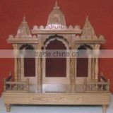 Super Grey Marble Mandir for Home Marble Indoor Temple White Marble Temple