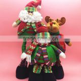 Christmas decoration, party necesaary items, christmas 50cm extension doll furnishing article