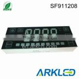 customised 4 digits LED Digital display for microwave oven use